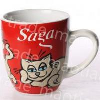 Buy cheap wholesale cheap stoneware decal ceramic coffee mug from wholesalers