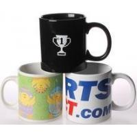 Buy cheap wholesale cheap promotional ceramic coffee mug for advertising printing customer logo from wholesalers