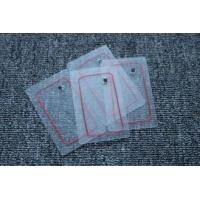 Buy cheap Transparent RFID Clear Tag Passive Chips In Credit Cards 86 * 54 * 0.8MM from wholesalers