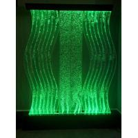 Buy cheap Colorful LED Light Cruve Water Bubble Wall Panel Fountain for Home & Hotel Decoration from wholesalers