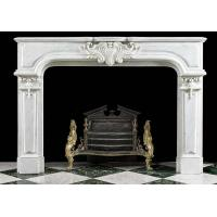 Buy cheap French Regency Marble Fireplace Surround from wholesalers