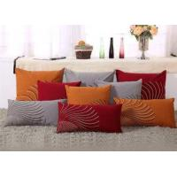 Buy cheap 100% Linen Decorative Cushion Covers Free Style Pattern Embroidered Throw Pillows product