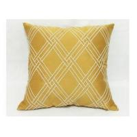 Buy cheap Modern Style Decorative Sofa Pillows , Embroidered Geometric Throw Pillows from wholesalers