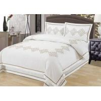 Buy cheap Elegant Embroidered Modern Duvet Covers And Shams 4Pcs Twin Bed Duvet Covers from wholesalers