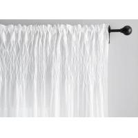 Buy cheap Fashion Organic Drape Modern Window Curtains Plain Style Color Customized from wholesalers