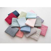 Buy cheap Modern Style Luxury Linen Sheet Set / Duvet Covers 4Pcs Machine Washable from wholesalers