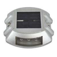 Buy cheap Highway Roadway Solar Powered Aluminum LED Cat Eye Road Stud Path Deck Dock Light from wholesalers