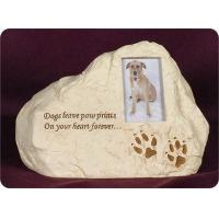China Pet Urn, Rock - Dogs Leave Paw Prints On Your Heart Forever on sale