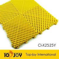 Buy cheap Outdoor yellow durable interlocking garage floor tiles from wholesalers