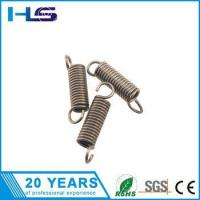 Buy cheap ISO certification retractable small industrial stainless steel coil extension spring from wholesalers