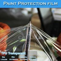 Buy cheap Free Shipping Auto-Repair Transparent Car Paint Protection Film TPU PPF from wholesalers