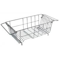 Buy cheap IZLIF Over The Sink Kitchen Dish Drainer Rack , Chrome Finish from wholesalers