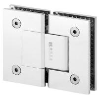 Buy cheap Square Economy Shower Hinge Wall Mount Full Back Plate glass door Hinge from wholesalers