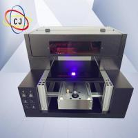 Buy cheap DTG T-shirt printer CJ-R2000UV A3 UV LED printer from wholesalers