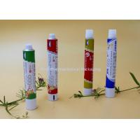 Buy cheap Round Aluminum Collapsible Tubes, Recyclable Toothpaste Tube Packaging from wholesalers