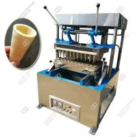 Buy cheap Commercial Pizza Cone Making Machine with 60 Mould from wholesalers