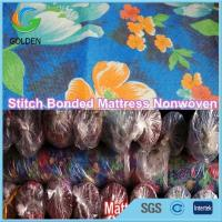 Buy cheap RPET Printed White Color Stitch Bonding Type of Non Woven Fabric for Mattress from wholesalers