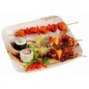 Buy cheap Palm Leaf Plate - 9.4 X 9.4 - 100/cs from wholesalers