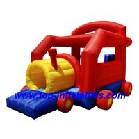 Buy cheap Inflatable Bouncers Choo Choo Train Bouncer from wholesalers