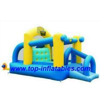 Buy cheap Inflatable Bouncers Tunnel Obstacle Course from wholesalers