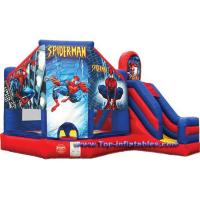 Buy cheap Inflatable Games Spiderman 5 in 1 Bouncer from wholesalers