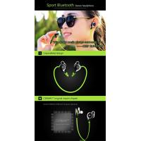 Buy cheap Top Sale Online Best Quality Handsfree Earpiece Waterproof Bluetooth Wireless Headset With Mic from wholesalers