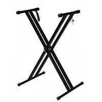Buy cheap Folding Metal Music Keyboard Electric Piano Dual Tube X-Stand Standard Rack New from wholesalers