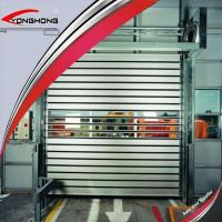 Buy cheap Aluminum Spiral Rapid Roller Shutter Door from wholesalers