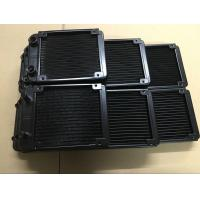Buy cheap 27mm thickness water cooled cpu radiator 80&120&240&360mm with G1/4 screw thread from wholesalers
