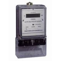Buy cheap Long Terminal Single Phase Electric Meter BS Mounting Digital Watt Hour Meter from wholesalers