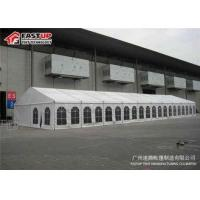 Buy cheap Large Capacity White Marquee Tent For Sports Game No Poles Inside Wind Resistant from wholesalers