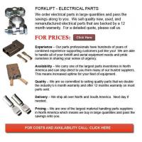 Buy cheap Forklift Electrical Parts from wholesalers