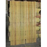 Buy cheap Lightweight and Pure Handmade Split Bamboo Fence with Smooth Surface from wholesalers