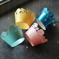Buy cheap laser cutting paper Baking Cups/Cupcake wrapper from wholesalers