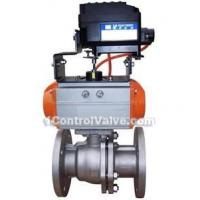 Buy cheap QYH641 pneumatic Otype regulative cutting off control valve from wholesalers