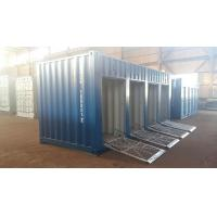 Buy cheap 20ft motorcycle trunk room container with shutter door product