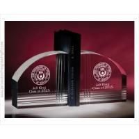 Buy cheap Crystal Bookends with Contemporary Design a Destinctive Graduation Gift from wholesalers