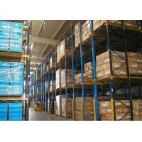 Buy cheap 5000mm High Volume Drive In Pallet Racking Cold Rolled Assemble Structure from wholesalers