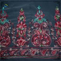 Buy cheap Nigerian African Voile Mesh Silk Embroidered Lace Fabric from wholesalers