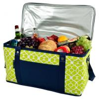Buy cheap Picnic at Ascot 72 Can Large Folding Collapsible Cooler - Trellis Green Navy from wholesalers