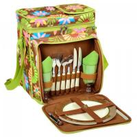 Buy cheap Picnic at Ascot Insulated Picnic Basket/Cooler Fully Equipped with Service for 2 - Floral from wholesalers