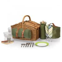Buy cheap Picnic Time Somerset Willow Basket for Two from wholesalers