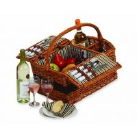 Buy cheap Picnic Plus Largo 2-Person Wicker Picnic Basket from wholesalers