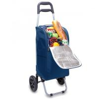 Buy cheap Picnic Time Cart Cooler on Wheels with Removeable Tote, Navy from wholesalers