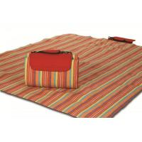 Buy cheap Mega Mat Folded Picnic Blanket with Shoulder Strap - 68 x 82 (Very Berry) from wholesalers