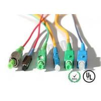 Buy cheap MM OM 4 Simplex Fiber Optic Patch Cord 2 mm With SC - APC Connector , ROHS Standard from wholesalers