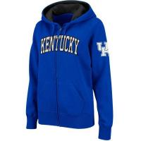 Buy cheap Women's Colosseum Royal Kentucky Wildcats Arched Name Full-Zip Hoodie from wholesalers