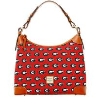 Buy cheap Women's Dooney & Bourke Red Georgia Bulldogs Team Color Hobo Purse from wholesalers