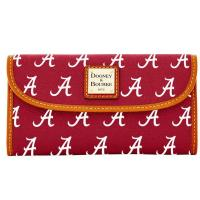 Buy cheap Women's Dooney & Bourke Crimson Alabama Crimson Tide Team Color Continental Clutch from wholesalers