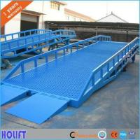 Buy cheap 15 Ton Mobile Hydraulic Loading Ramps for trucks from wholesalers